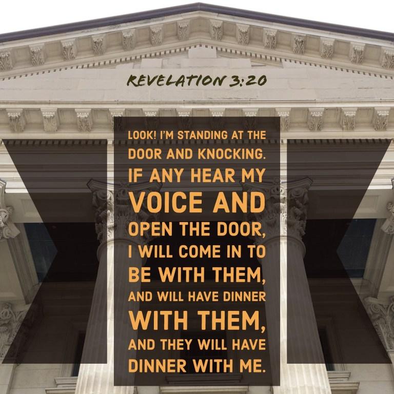 Verse Image for Revelation 3:20 - 1x1