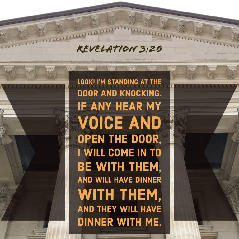 Verse Image for Revelation 3:20 - 1x1