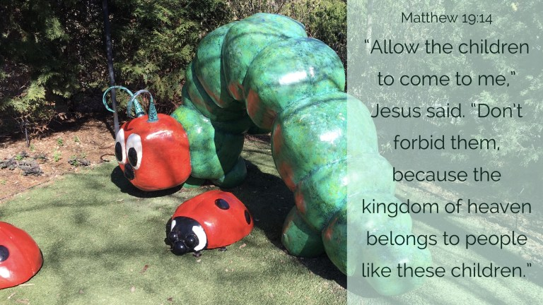 Verse Image for Matthew 19:14 - 16x9