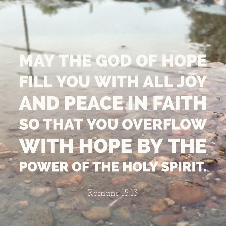 Verse Image for Romans 15:13 - 1x1