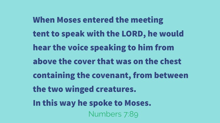 Verse Image for Numbers 7:89 - 16x9