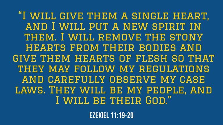 Verse Image for Ezekiel 11:19-20 - 16x9