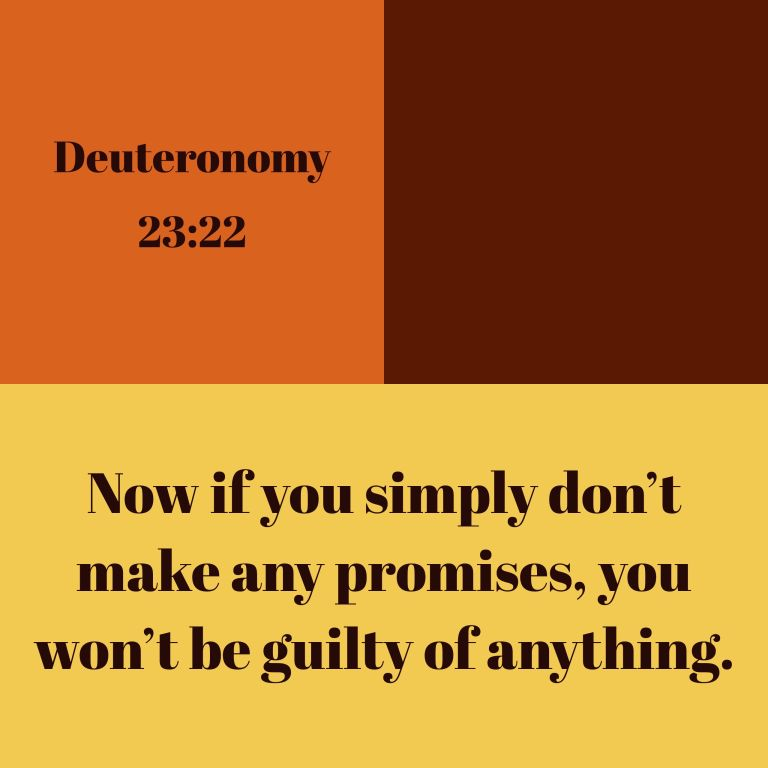 Verse Image for Deuteronomy 23:22 - 1x1