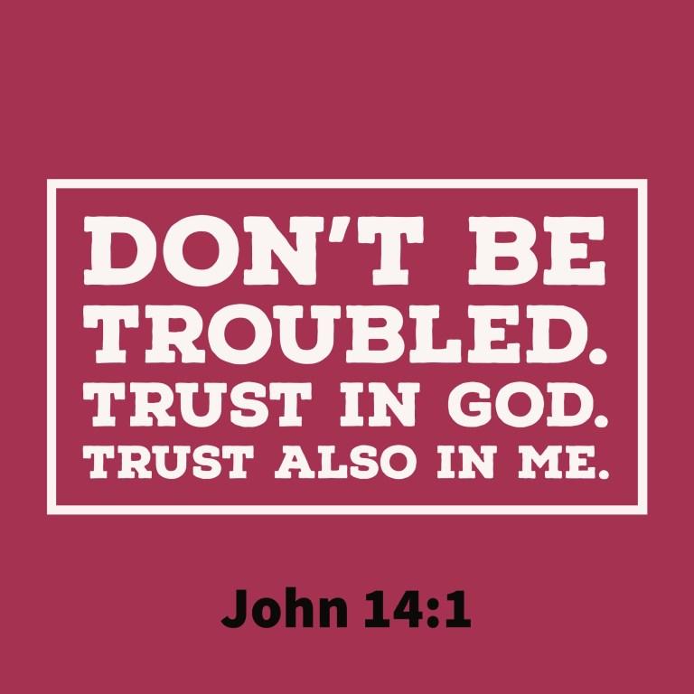 Verse Image for John 14:1 - 1x1