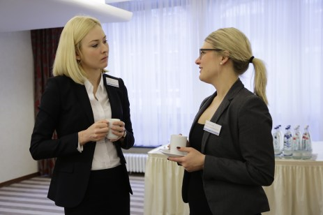 Impressionen des sechsten Breakfast Briefings