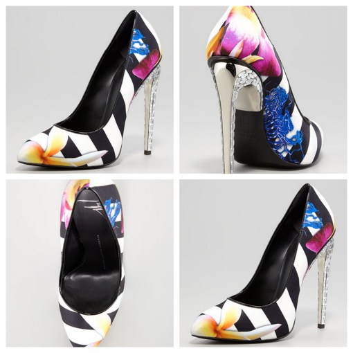 """VersiGasm: Floral pumps"""