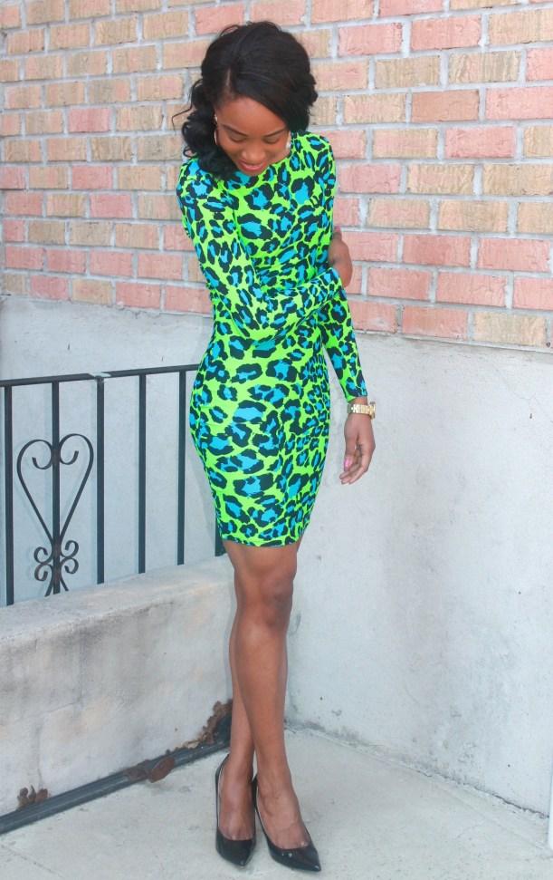 Green & blue leopard dress (4)