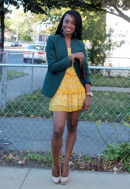 Summer dress + fall colors (8)