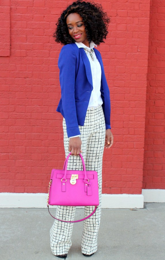 Wide leg trousers + blazer (4)