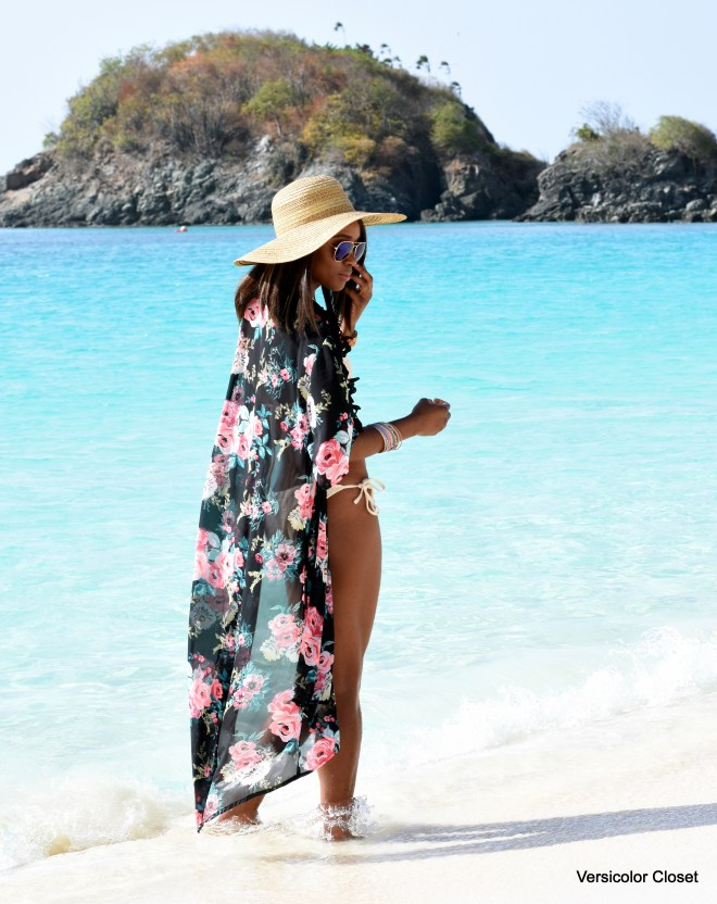 Forever 21 bathing suit & Charlotte Russe cover up (4)