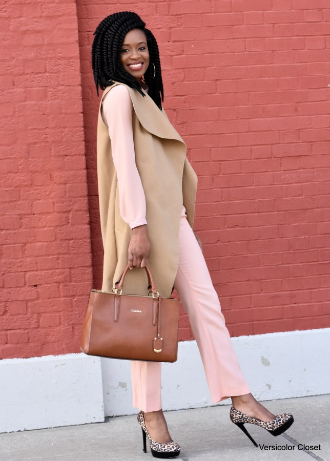 Blush trousers & top (6)