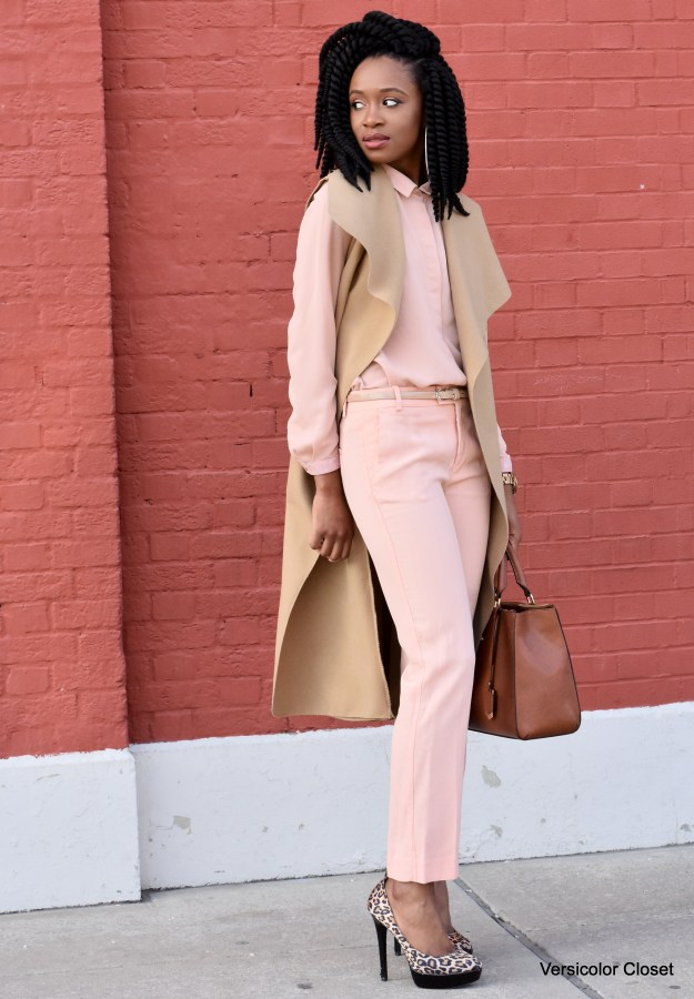 Blush trousers & top (9)