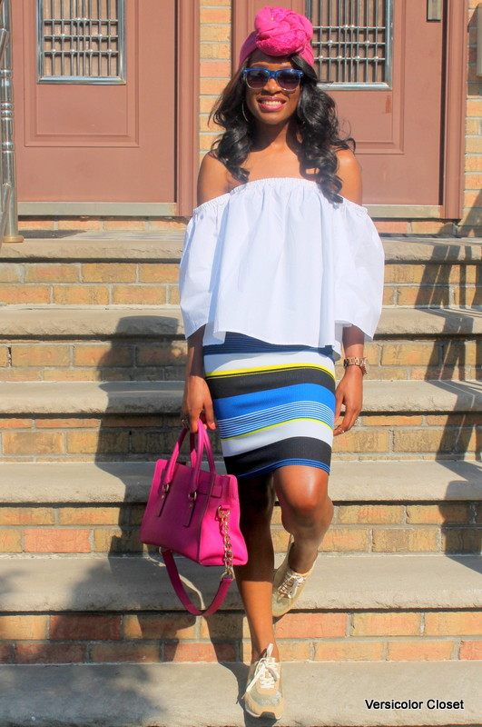 How to wear an off the shoulder top this summer (22)