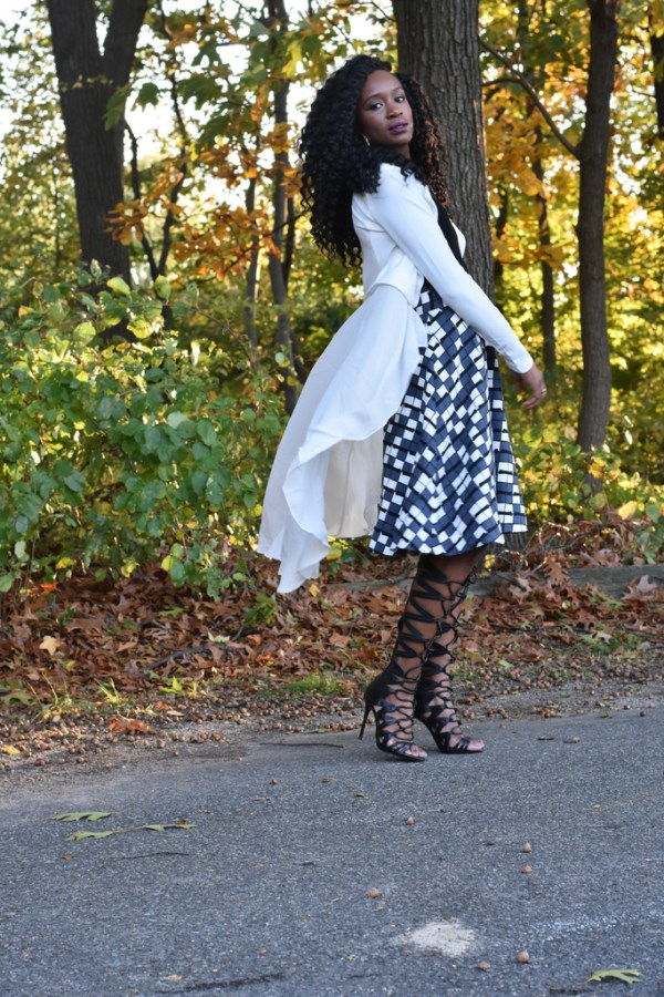 styling-a-skater-skirt-with-a-flowy-blazer-5