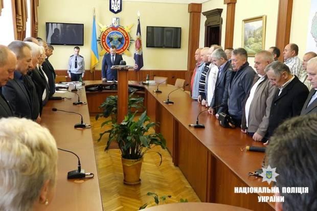 У прикарпатській поліції вшанували ліквідаторів аварії на Чорнобильській АЕС (ФОТО)