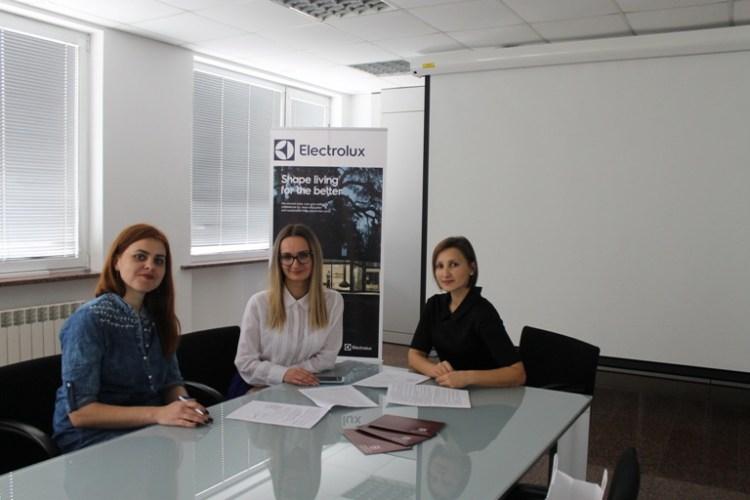 Івано-Франківськ: Університет Короля Данила підписав договір про співпрацю з ТОВ «Electrolux»