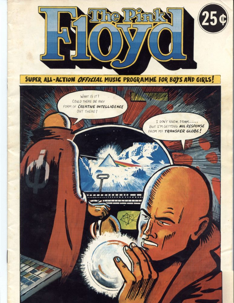 Pink Floyd Tour Comic (1/6)