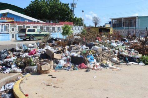 Basura en Maracaibo