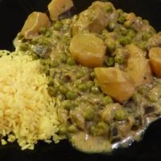 Curry de coco aux légumes