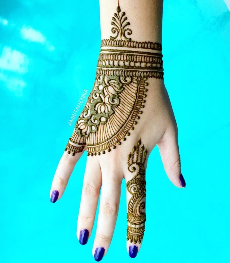 Tasmim Blog Simple Mehndi Designs For Back Hands 2020