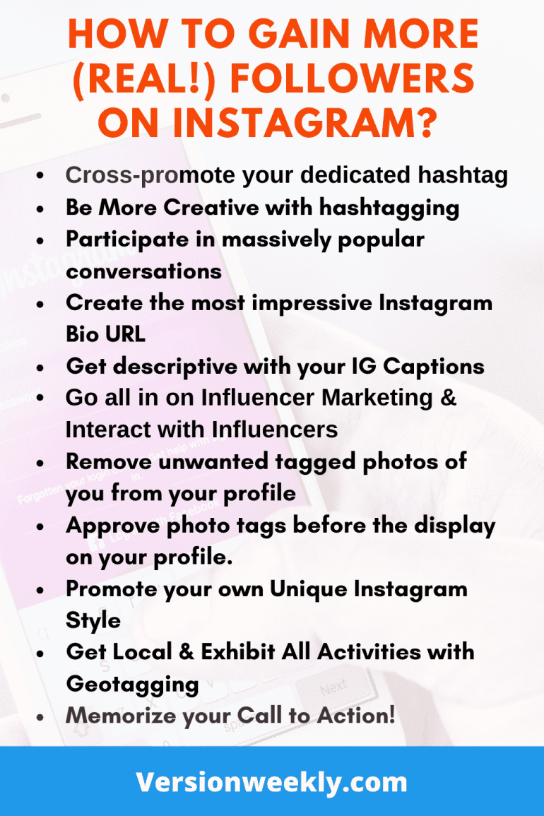 How to Gain More Real Instagram Followers in Short-Time
