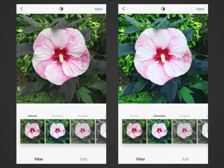 Clarendon Instagram Filters
