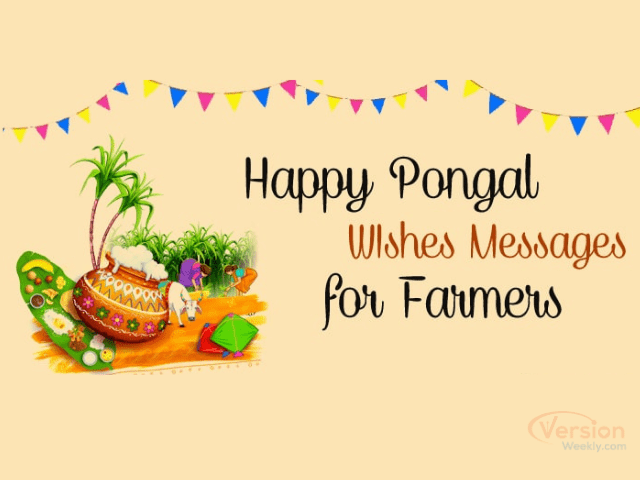 happy Pongal wishes messages for farmers 2021