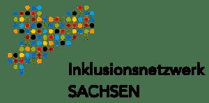 Logo des Inklusionsnetzwerks Sachsen