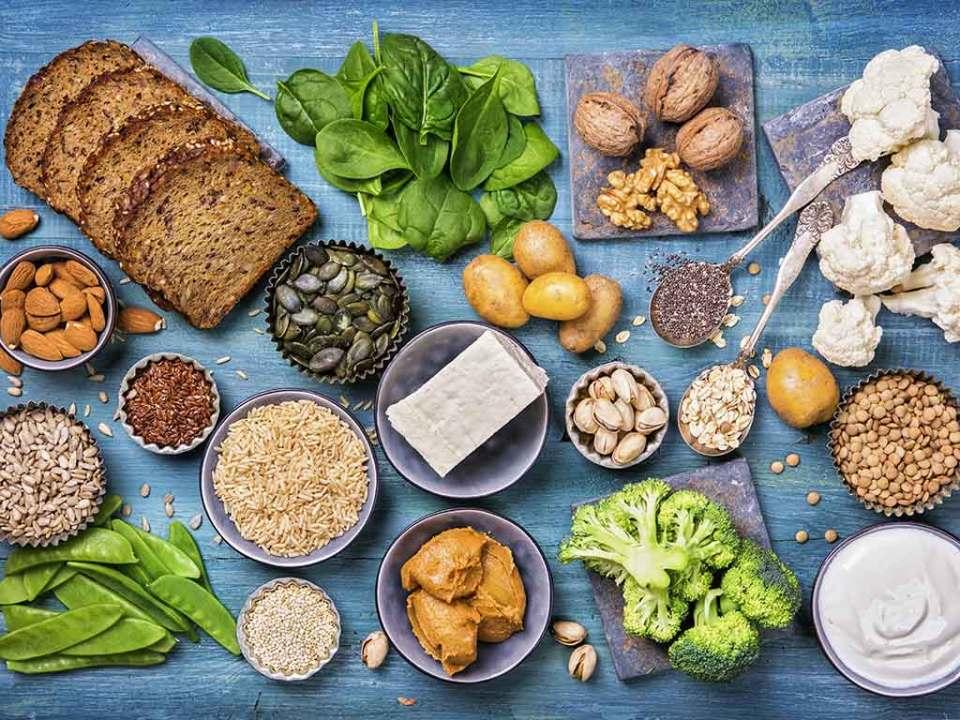 vegane Nahrungsmittel