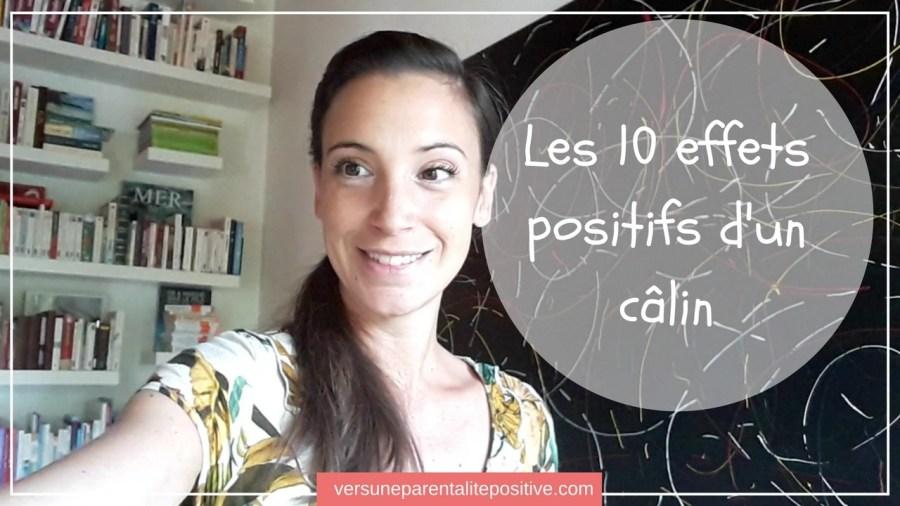 10 effets positifs des calins