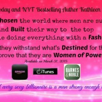 Women of Power #4: Destined for Power by Kathleen Brooks Release Day