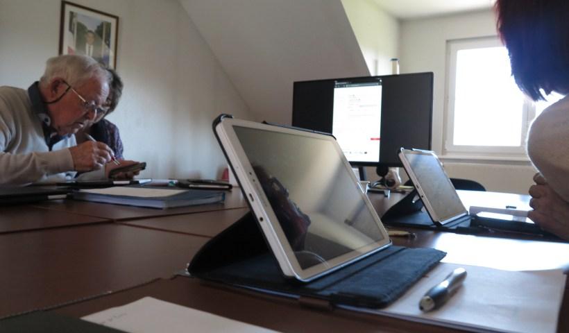 Atelier «tablette» Saulxures 2020