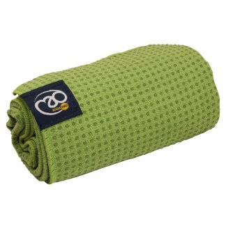 Serviette tapis de Yoga antidérapante Yoga-Mad light green