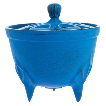 Brûle-parfums Bol bleu
