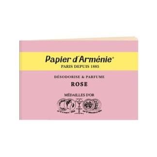 Carnet Rose Papier d'Arménie