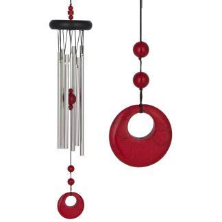Carillon à vent Chakra Corail rouge Woodstock Chimes