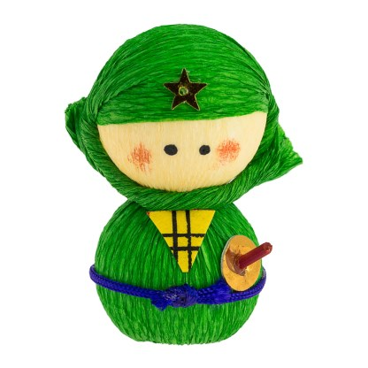Culbuto Okiagari Ninja Vert