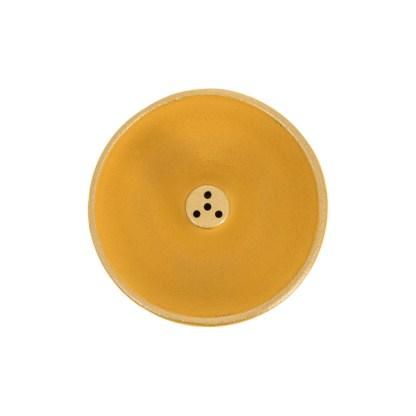 Brûle-parfums Fontaine jaune dessus