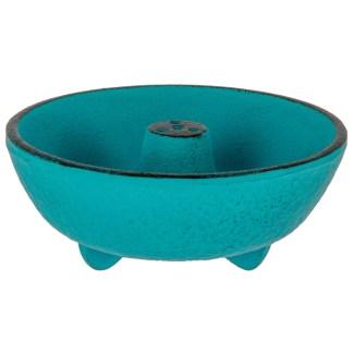 Brûle-parfums Fontaine turquoise Iwachu