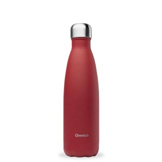 Bouteille Granite rouge Qwetch 500ml