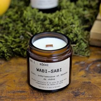 Bougie parfumée N°01 Kôchi 90g/25h Wabi-Sabi
