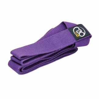 Sangle de yoga 2 en 1 Mat Carry Strap Yoga-Mad purple