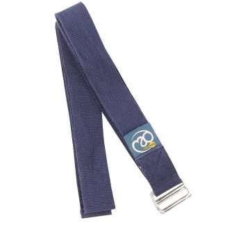 Sangle de yoga Lightweight Yoga Belt de 2m Yoga-Mad blue