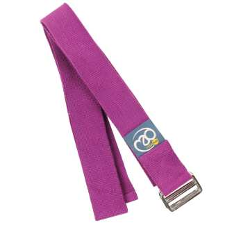 Sangle de yoga Lightweight Yoga Belt de 2m Yoga-Mad grape