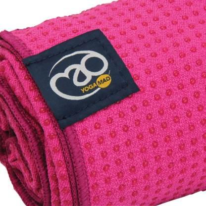 Serviette tapis de Yoga antidérapante Yoga-Mad détail