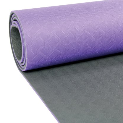 Tapis de Yoga Evolution Yoga Mat 4mm Yoga-Mad violet