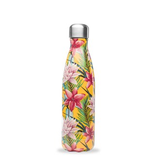 Bouteille Tropical jaune Qwetch 500ml