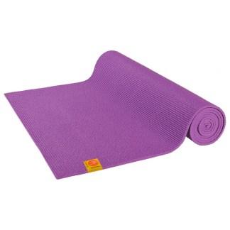 Tapis de yoga Non-Toxique Chin Mudra prune