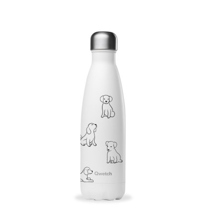 Bouteille Pretty dogs Qwetch 500ml