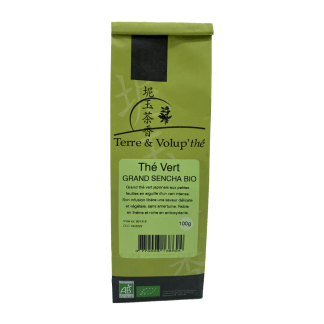 Thé vert Grand Sencha Bio Terre & Volup'thé
